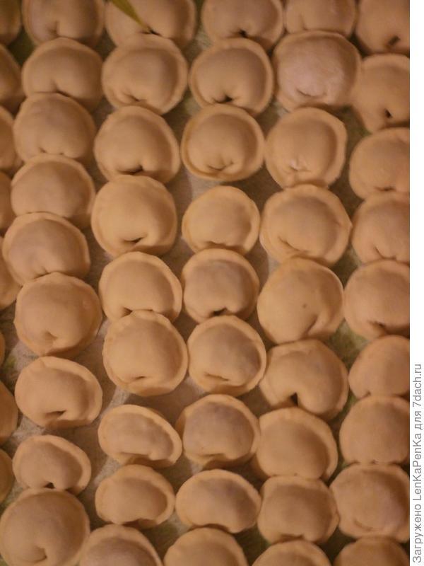 Пельмени домашние - пошаговый рецепт приготовления с фото