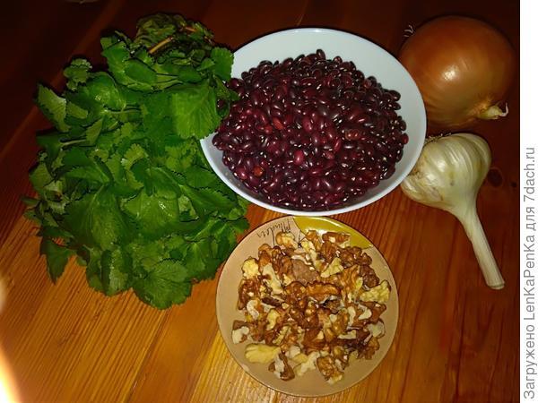 Лобио - пошаговый рецепт приготовления с фото