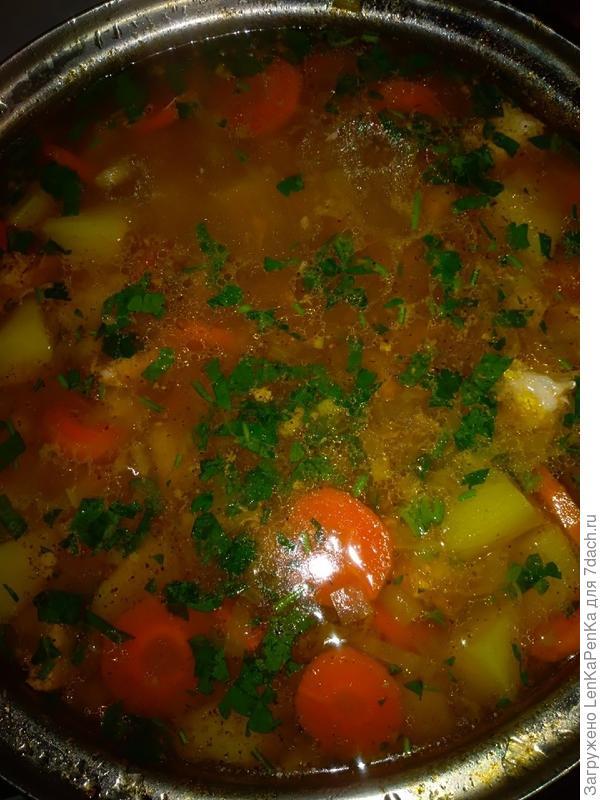Густой суп Пихельштайнер. Пошаговый рецепт с фото