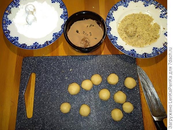 Марципан (марципановые конфеты). Пошаговый рецепт с фото