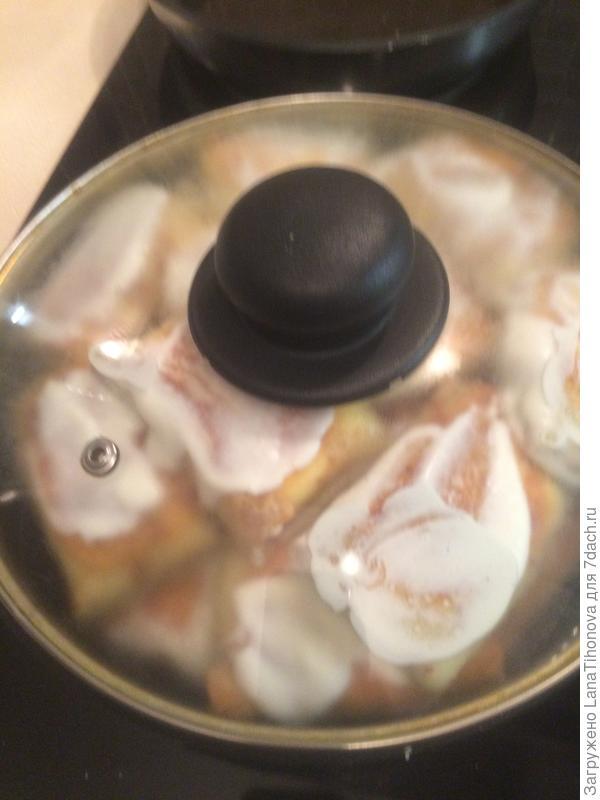 Блинтцен - блины с начинкой из творога и сметанной заправкой. Пошаговый рецепт и фото