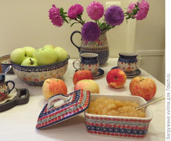 Традиционная заготовка из яблок