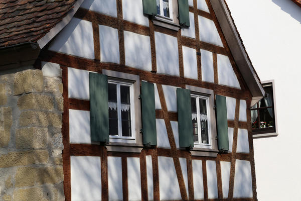 Фахверковые фасады - это красиво и несложно