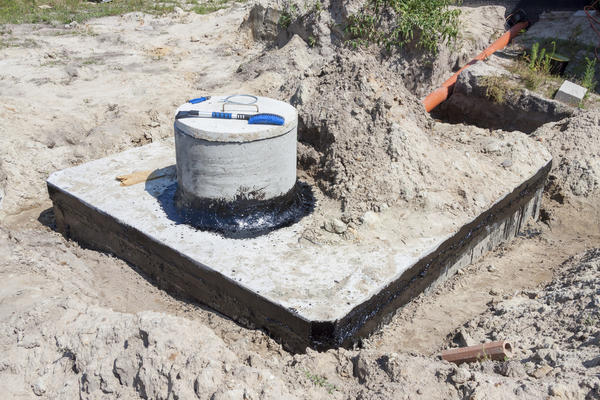 Септик из бетона