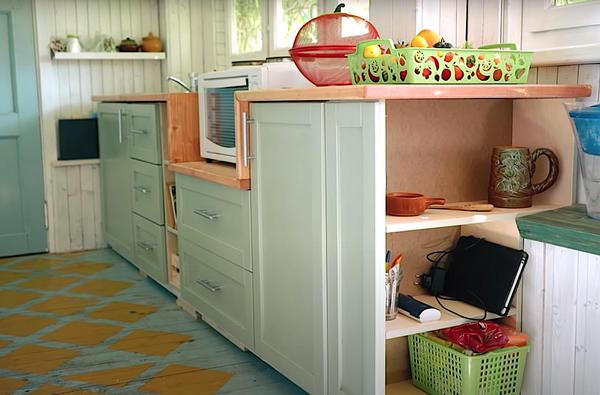 Дачная кухня из фанеры своими руками