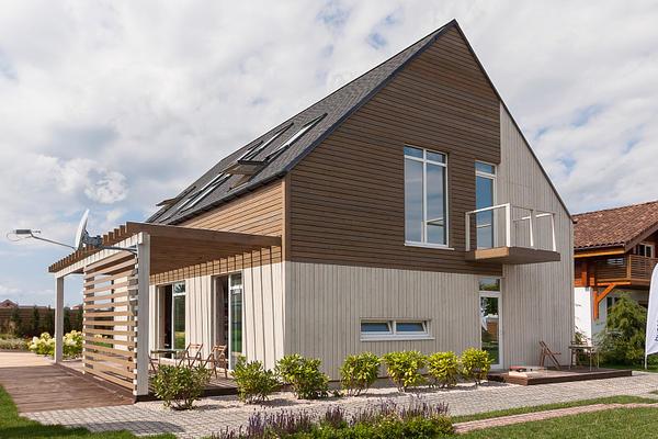 Каркасные дома - одни из самых энергоэффективных, строятся они быстро, а жить в них - комфортно!