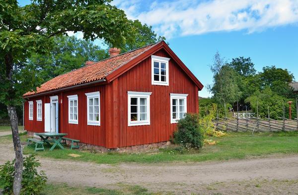 Небольшой финский домик