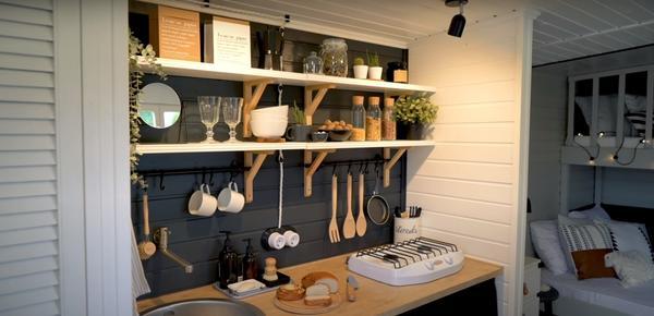 Дизайн кухни. Фото с канала ШИШКИН