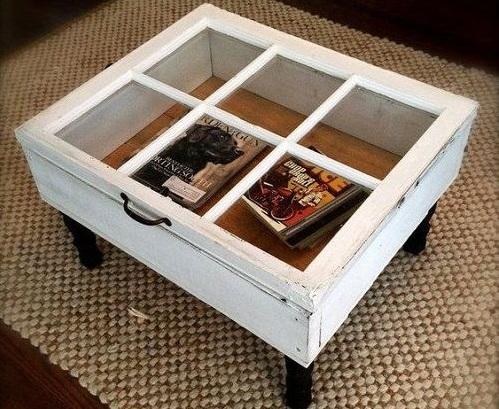Столик с рабочей створкой для хранения приятных сердцу мелочей. Фото pinterest.ru