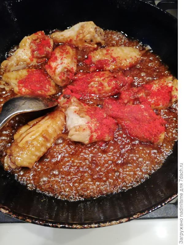 Куриные крылышки по-китайски в соево-медовом соусе. Пошаговый рецепт с фото