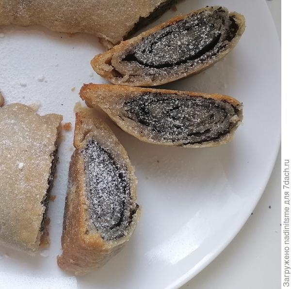 Постный пирог с маком по-монастырски - пошаговый рецепт приготовления с фото
