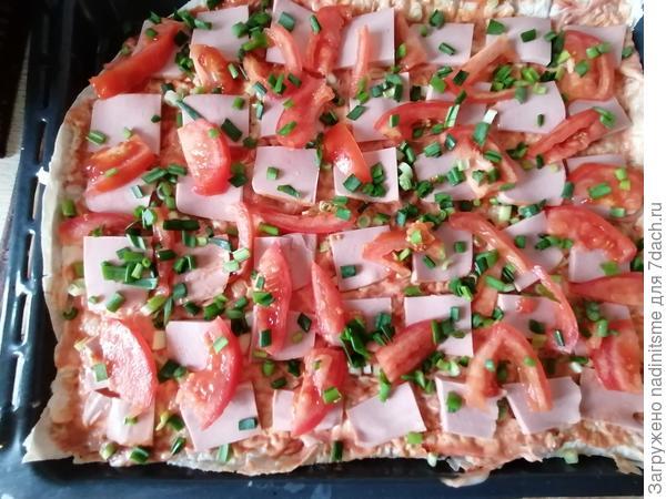 Пицца из лаваша - пошаговый рецепт приготовления с фото