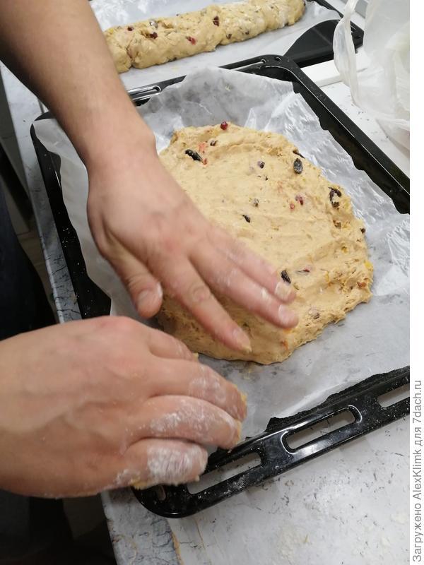 Штоллен - праздничный кекс с цукатами, орехами и сухофруктами. Рецепт с пошаговыми фотографиями