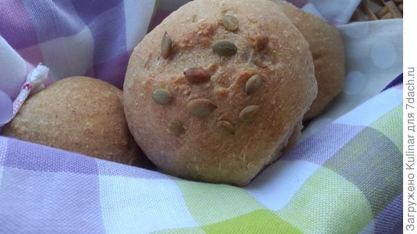 Постные овсяные булочки на закваске - пошаговый рецепт приготовления с фото
