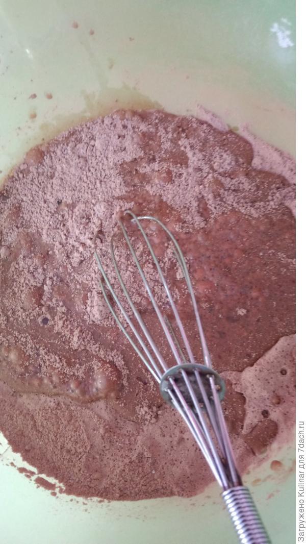 Постный шоколадный фондан - пошаговый рецепт приготовления с фото