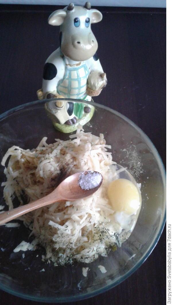 Картофельная запеканка с грибами и яйцом в духовке. Пошаговый рецепт с фото