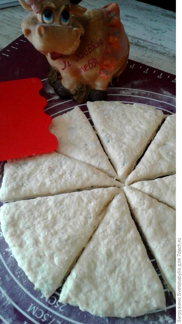 Пышные сырные лепешки на простокваше. Пошаговый рецепт с фото