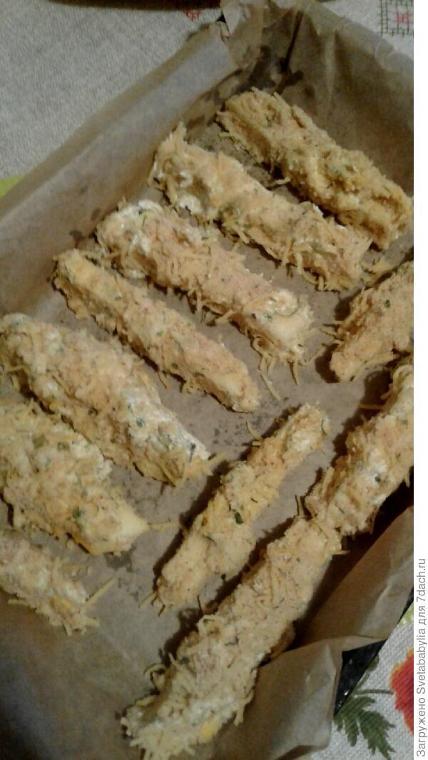 Кабачковые хрустящие палочки в панировке из сыра и пряных трав. Пошаговый рецепт с фотографиями