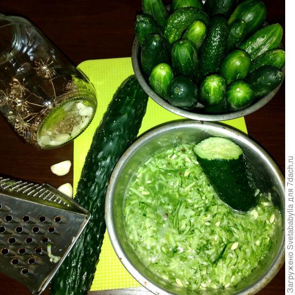 Соленые огурцы в собственном соку - пошаговый рецепт приготовления с фото