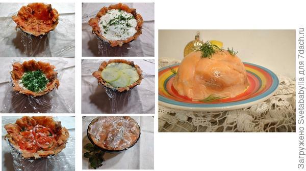 Рыбный слоеный салат. Пошаговый рецепт с фото