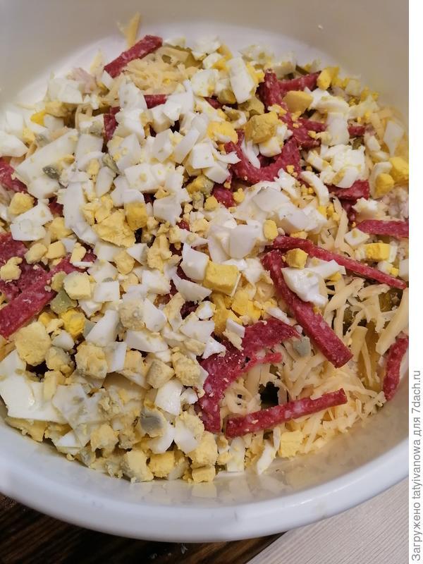 Салат с курицей и маслинами - пошаговый рецепт приготовления с фото