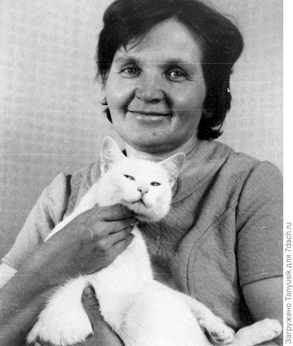 Моя мама с Ромашкой.