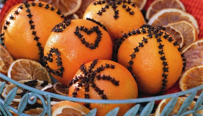 Праздник! Чувствуете? — Апельсиновый декор к Новому году