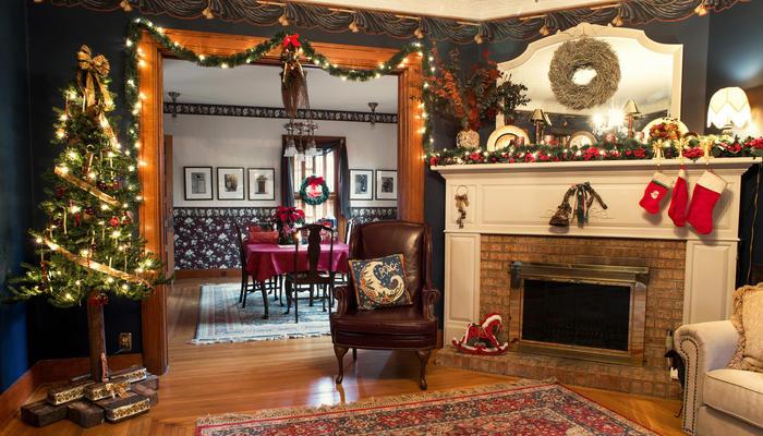 Как превратить зал в новогоднюю сказку