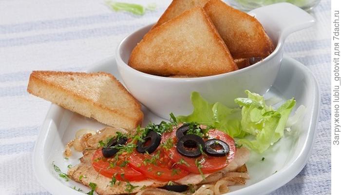 Жареная рыба с томатами: быстрый ужин по-гречески