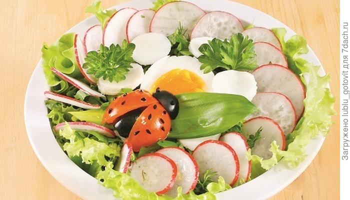 Весенний салат с черемшой: открываем сезон витаминной зелени
