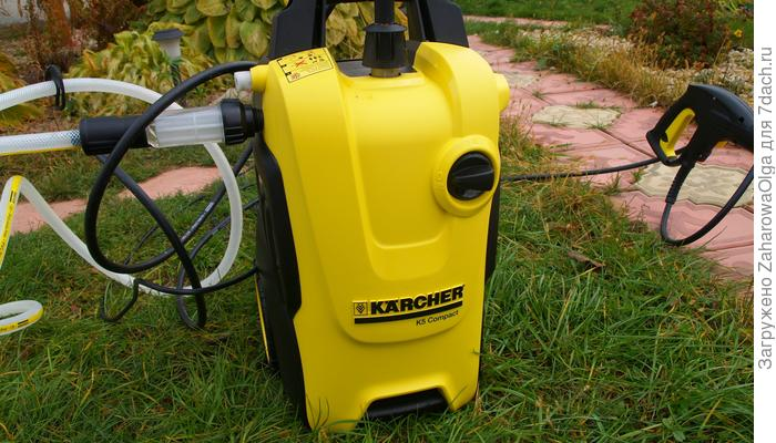 Тестирование минимойки Kärcher K5 Compact Home с насадкой T-Racer