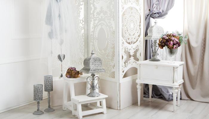 Необычная дачная мебель из ткани: как сделать ширму