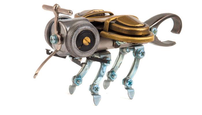 Будущее планеты - роботы-цветы и роботы-пчелы?