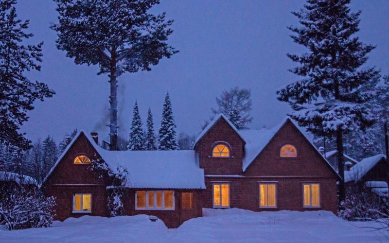 Зимний вечер в Сочельник