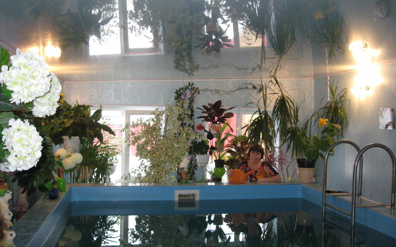 Сейчас уже можно смело говорить, что сбылась наша мечта, и мы наслаждаемся ежедневным плаванием в своем бассейне