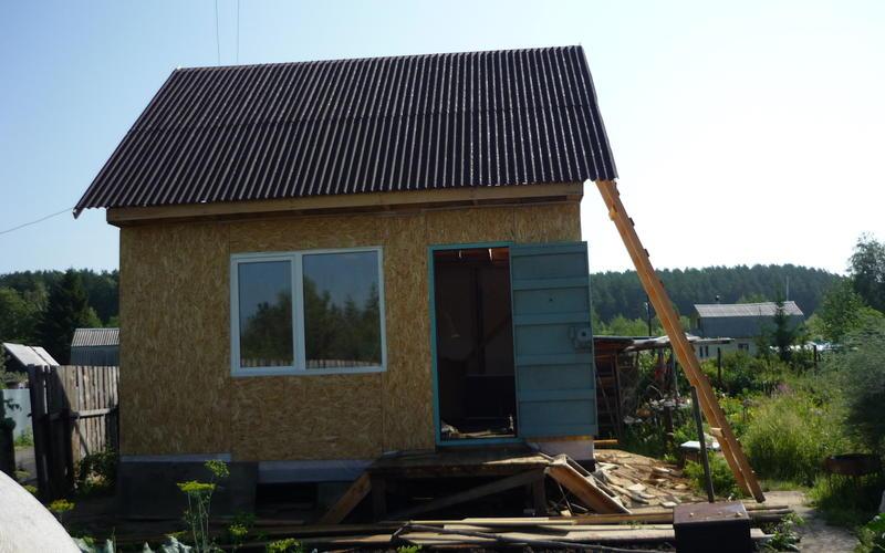Дачный дом 5на 5 м