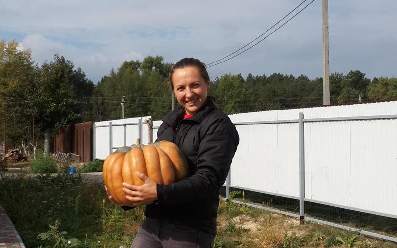 Каждая тыковка на 20 кг )))