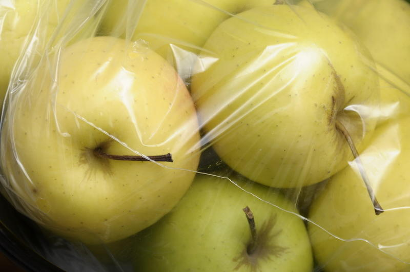 Хранение яблок в полиэтиленовых пакетах