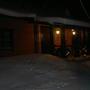 А вот так выглядит моя банька во время глухой сибирской зимы.