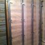 Отделка помывочной зоны, утепление наружных стен Роквул Скандик