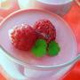 Сливочный десерт из замороженных ягод
