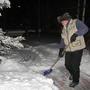 Зима вступила в свои права только после Нового года