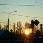 Но, как обычно, рассвет встречаем в дороге