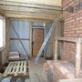 Было запланировано одноэтажное строение типа гаража с кухонькой, в итоге 2 этажа.
