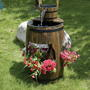 Декоративное кашпо с фонтаном