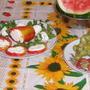 Перец, фаршированный творогом и чесноком (холодная закуска)