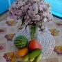 В итоге была очень рада урожаю, который вырос в парнике. С виду он конечно не очень, но зато урожай на столе есть! Благодарю за просмотр!