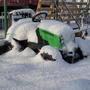 Зимовка сельхоз техники под открытым небом