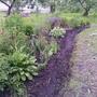 Клумба в саду