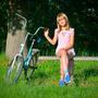 У кого есть интерес легко сбросить лишний вес? Надо с самых юных лет оседлать велосипед!